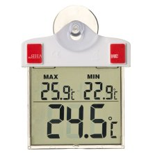 Nature Digital Window Thermometer 13x10x3 cm 6080078