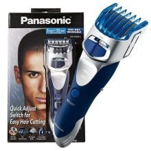 Panasonic Hair Clipper and Body Groomer Wet/Dry with 2 Comb Attachments (ERGS60S)