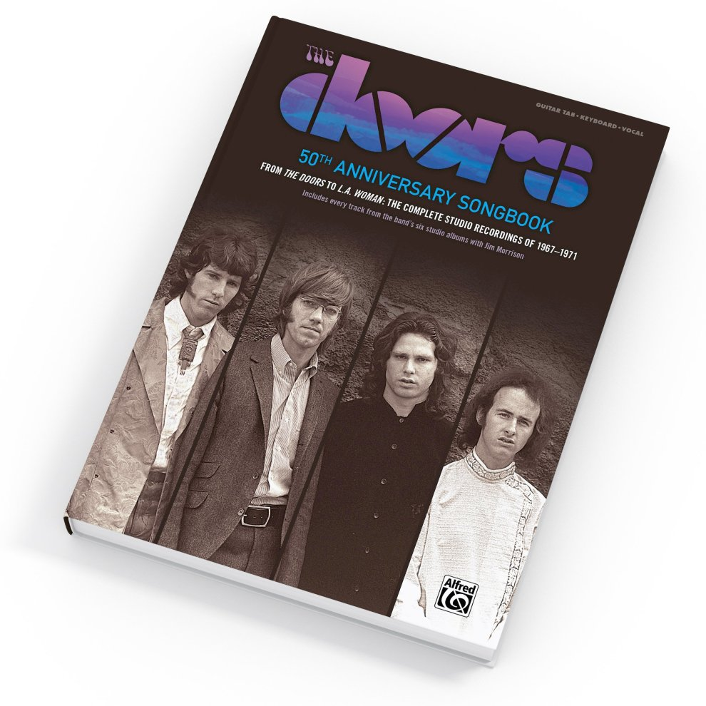 The Doors -- 50th Anniversary Songbook: 62 Songs from the Doors -- L A   Woman (Guitar Songbook Edition), Hardcover Book