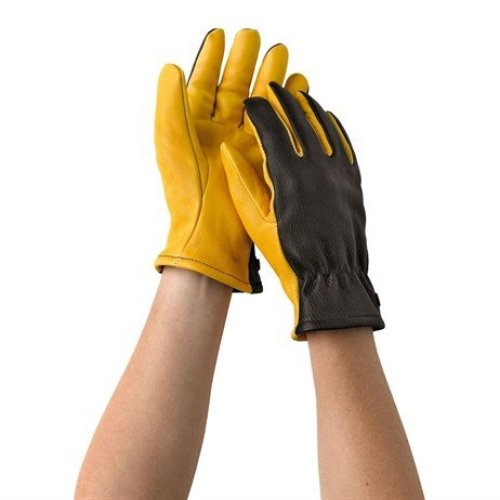 Gold Leaf Dry Touch Gloves Ladies