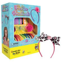 Creativity for Kids - Fashion Headbands | Kids' Headband Making Kit