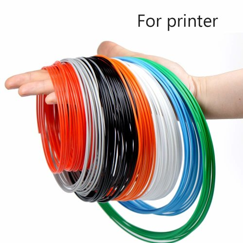 Filament PLA 1.75mm, ERYONE Filament PLA, 8 Colors, 3D Printing Filament PLA for 3D printer, 0.2kg 1 Spool