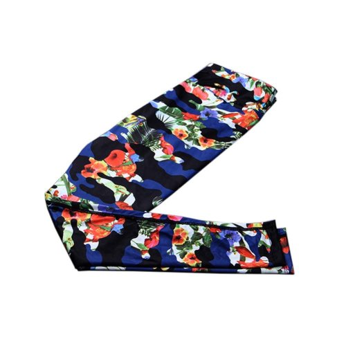 Stylish Printing Design Quick-dry Pants Running Fitness Trousers Yoga Pants, #04
