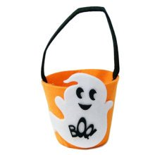 Trick Or Treat Small Halloween Party Decor Children Prop Candy Storage-A2