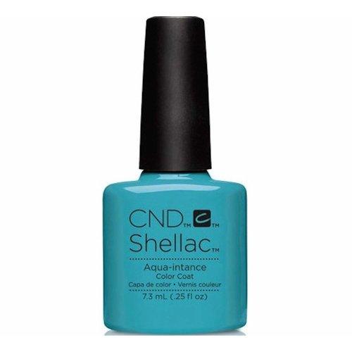 CND Shellac Nail Polish - Aqua-intance