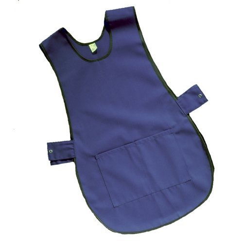 Click PCTABNL Polycotton Work Apron Tabbard Navy Blue Large