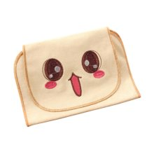 Cotton Baby Towels for Sweat-absorbent with Lovely Cartoon Style, 32x24cm