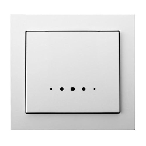 Single Big Button Indoor Light Switch Click Wall Plate with Light