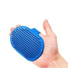 Pet Take A Shower Glove,Cat/Dog Bathing Brush,Random Colors(RED/BLUE)
