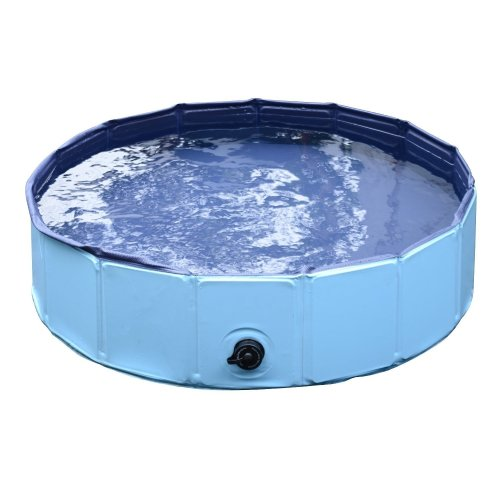 PawHut Foldable Pet Pool | Dog Swimming Pool