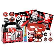 Pre-Filled Ninja Party Favour Box | Kids' Ninja Party Box