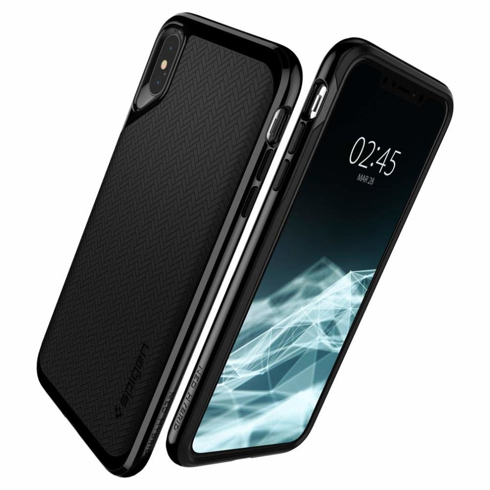 release date 11f6f 94eaa Spigen [Neo Hybrid] iPhone Xs Max Case Cover 6.5 inch with Flexible Inner  Protection and Reinforced Hard Bumper Frame for iPhone Xs Max (2018) 6.5...