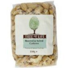 Tree Of Life - Cashew Nuts - Roasted & Salted 250g x 6