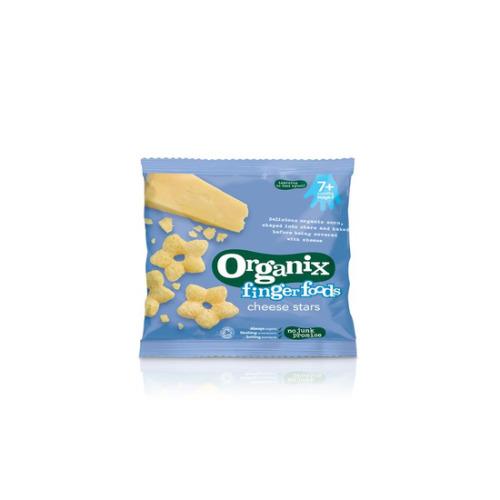 Organix Cheese Stars 20g
