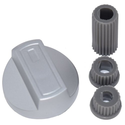 Candy Universal Universal Cooker/Oven/Grill Control Knob And Adaptors Silver