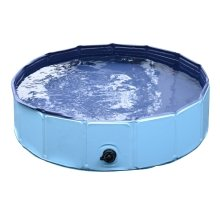 Pawhut Pet Swimming Foldable Tub Pool Dog Puppy Indoor / Outdoor