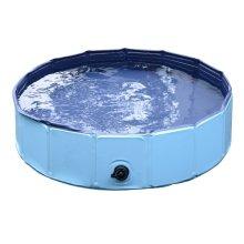 PawHut Foldable Pet Pool | Dog Swimming Pool