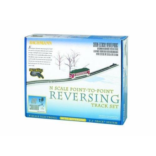 Bachmann Industries E Z Track Nickel Silver E Z Track Auto Reversing System N Scale