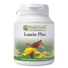 Lutein Plus (Lutein/Eyebright/Bilberry) 775mg x 75 capsules