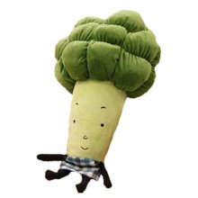 Cute Vegetables Hand Warm Plush Hold Pillow Stuffed Soft Toy,broccoli 55cm