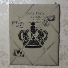 Vintage Crown Memo Board