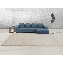Rug - Carpet -  Beige - Velour - Polyester - ORDU