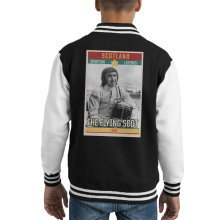 Sporting Legends Poster Scotland Jackie Stewart Formula 1 The Flying Scot 1939 Kid's Varsity Jacket
