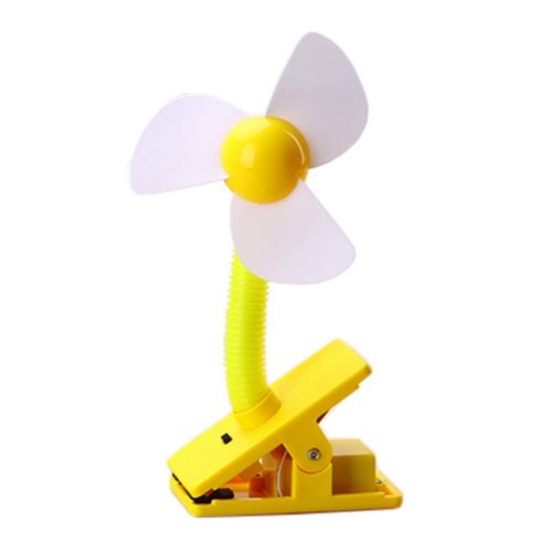 Turnable Rechargeable Mini USB Fan Electric Fan for Dormitory, A