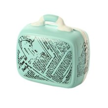 Creative Fashion Letters Suitcase Piggy Bank Saving Money Random Delivery GreenA