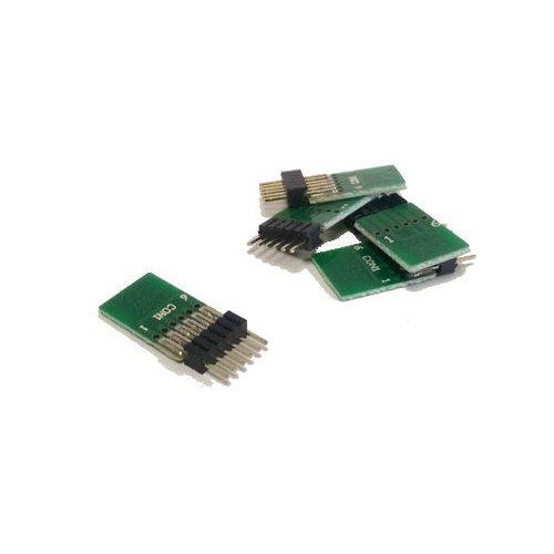 6 Pin Decoder Blanking Plug (Straight) (x5) - Graham Farish 379-428 - Free Post