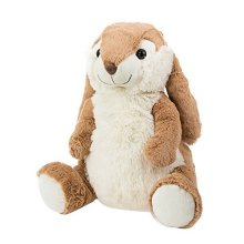 The Hot Water Bottle Shop 1 Litre Hatty The Hare Kuddli Friends Hot Water -  cuddly animal hot water bottles