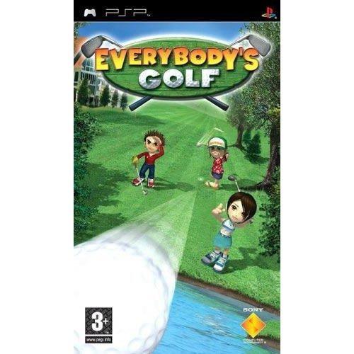 Everybodys Golf Sony PSP Game