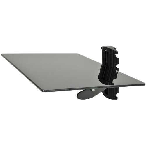 Adjustable Wall Mount Media Shelf