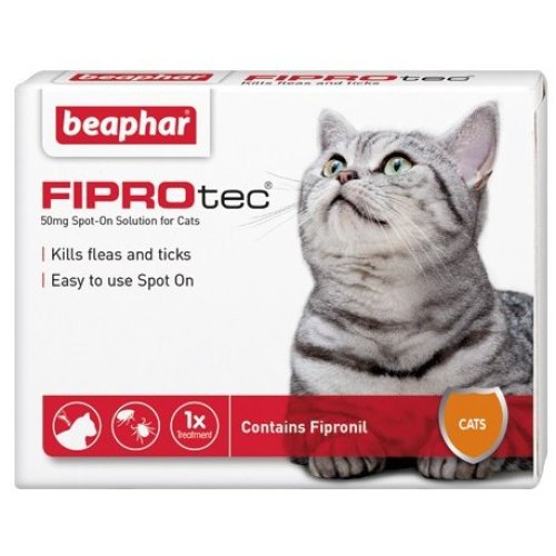 Fiprotec Spot On Cat 1 Treatment (Pack of 6)