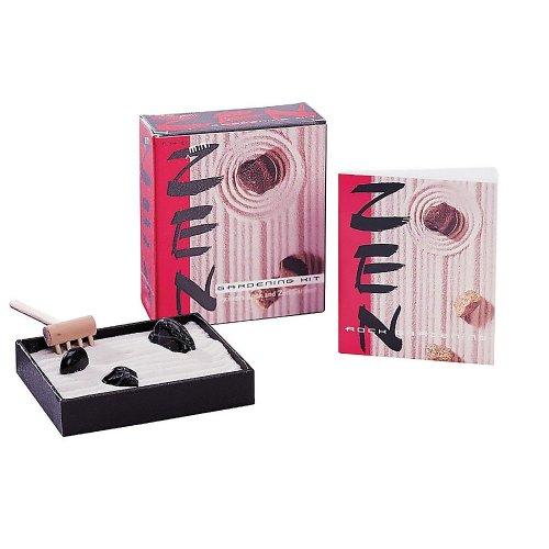 The Mini Zen Gardening Kit (Miniature Editions)