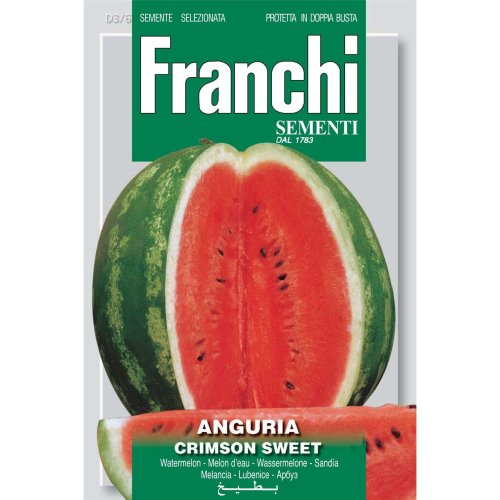 Franchi Seeds of Italy - DBO 3/6 - Watermelon - Crimson Sweet - Seeds