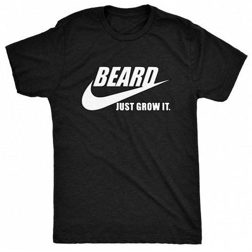 8TN Beard - Just Grow it - Do  - White Mens T Shirt