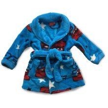 Cars Dressing Gown - Blue