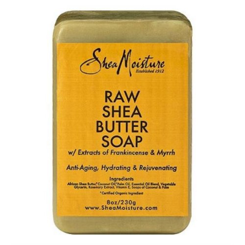 SheaMoisture Raw Shea Butter Soap | Organic Bar Soap