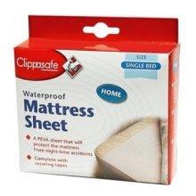 Single Bed Clippasafe Waterproof Mattress Sheet -  clippasafe waterproof sheet mattress single bed x