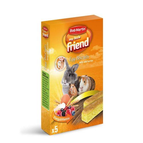 Shaws Egg Biscuits with Wild Berries for Small Animals