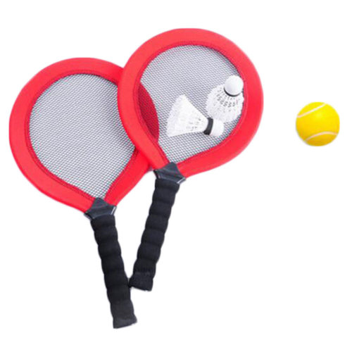 Great Kids Badminton Racquet Tennis Rackets Outdoor Sport Toys -A12