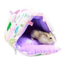Best Home Pet Supplies for Small Furry Animals Warm Soft Cartoon Lovely Pet Bed