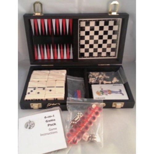 Excalibur Parlor Ultimate Games Travel Pack