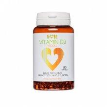 Vitamin D3 5000 IU - 180 softgels - i-vit (soy free)