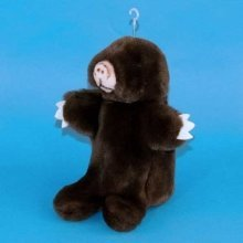 Dowman Mole Hand Puppet Soft Toy 28cm