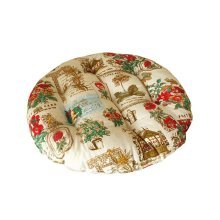 Comfortable Round Chair Cushion Practical Chair Pads, Yellow
