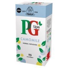 Pg Tips Camomile Enveloped Tea Bags 25s