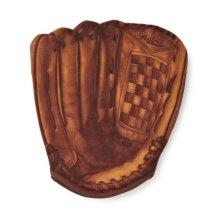 Mustard Home Run Oven Glove Mitt, Brown - Baseball Mitt Gift Home -  oven glove baseball home run mitt gift mustard homerun