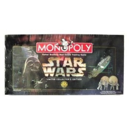 Monopoly 1997 Star Wars Monopoly Limited Collector'S 20Th Anniversary Edition